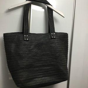 Sarajane lack tote bag from Bikini Village